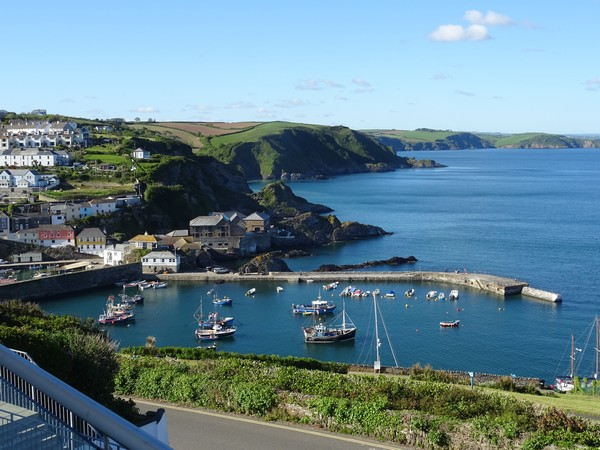 Fantastic views of Mevagissey.