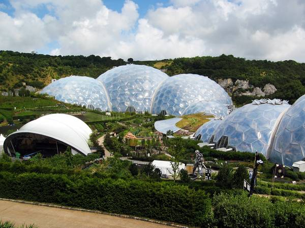 Make sure you visit the internationally famous Eden Project, a great day out.