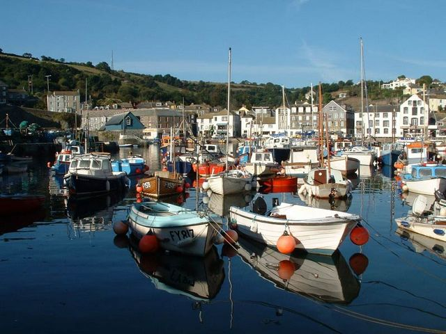 Mevagissey Harbour Holiday Cottages Cornwall UK